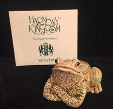 *NIB* Harmony Kingdom -Saxony (Frog) Limited Edition #344/1500