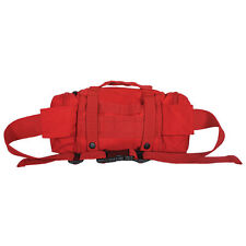 NEW - Military Deployment Utility MOLLE Waist Pouch Bag - SWAT BLACK