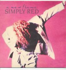 "SIMPLY RED - A NEW FLAME - 12"" VINYL LP"