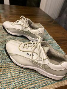 Women's FootJoy GreenJoys 48744P White Golf Shoes Size 9.5M