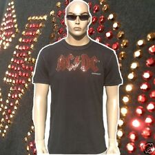 Amplified Official AC/DC ACDC Estrás Rock Star Vintage VIP CULTO DE Camiseta