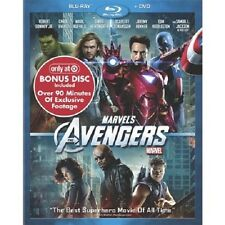 Brand New TARGET EXCLUSIVE The Avengers Blu-ray/DVD 2012 3-Disc Set + Bonus Disc