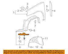 Pontiac GM OEM 05-10 G6 Fender-Air Deflector Left 15242778