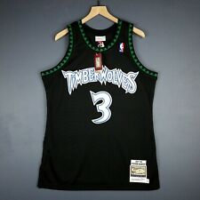 promo code 1e8c2 ff099 100% Authentic Stephon Marbury Mitchell Ness 97 98 Wolves Jersey Size 40 M  Mens