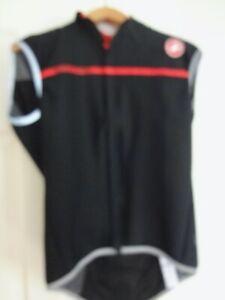 Castelli Cycling Vest Perfetto Gore-Tex Black Rosso Corsa XL