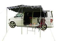 Campervan Canopy Retro Awning Sun Shade OLPRO Shade - Charcoal