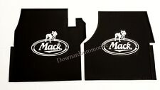Mack Truck OEM Rubber Floor Mats/Logo - CH & Vision PRE 2006 Emissions Engines