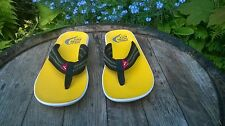 MENS RARE PUMA VOLVO OCEAN RACE TOE POST / THONG FLIP FLOPS / SANDALS UK SIZE 8