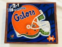 Tri-a-puzzle, the College Edition Florida Gators 350 Pieces - 3 Puzzles in One!