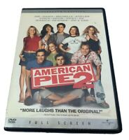 American Pie 2 DVD Collector's Edition Full Screen 2002 Universal Pictures