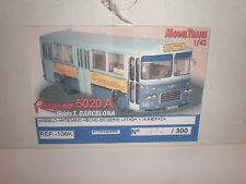 1/43 Pegaso 5020 A Seida Y. BARCELONA Bus KIT / Modeltrans Ref.-106