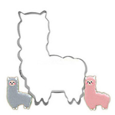 Cute Alpaca Biscuit Mold Stainless Steel Llama Cookie Cutter Kitchen Baking Tool