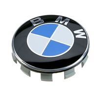 BMW Genuine Alloy Wheel Center Cover Hub Cap Chrome 36136783536