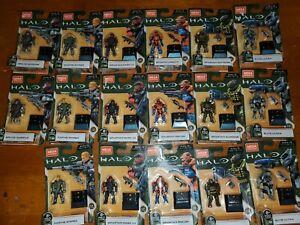 Mega Bloks Construx Halo Heroes Series 12  Figure Lot