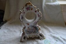 antique porcelain clock case