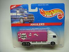 HOT WHEELS-HAULERS-GOOD & PLENTY-1996-MATTEL---NEW----