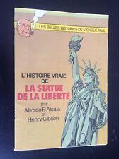 Supplement Spirou histoire vraie statue Liberté oncle Paul 1986 TBE