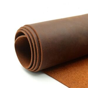 Natural Cow Skin Crazy Horse Leather Color Genuine Leather