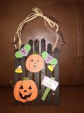 Halloween Wood Plaque Decoration