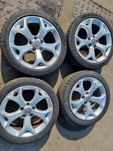 Vauxhall Corsa VXR 17 Inch Alloy Wheel Set With Tyres