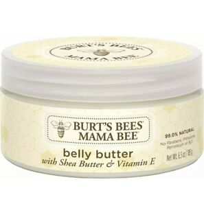 Burt's Bees Mama Bee 99% Natural Nourishing Belly Butter, Shea Butter and Vitami