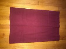 NWOT The Company Store Flannel Pillowcase Standard Maroon