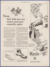 Vintage 1923 KEDS Sneakers Shoes Men Women Kids Fashion Ephemera 20's Print Ad