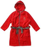 Boys Dressing Gown Liverpool Football Bath Robe L.F.C Hooded 3 to 6 Years