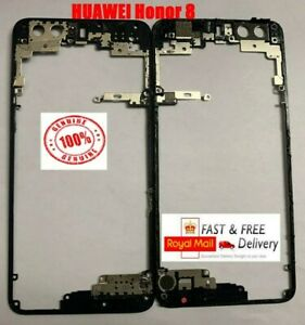 100% GENUINE HUAWEI Honor 8 Middle Frame Rear Bezel Chassis Housing Holder cover