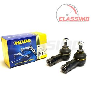 Moog Track Tie Rod End Pair for FORD ESCORT Mk 2 - MEXICO RS1600 RS1800 RS2000