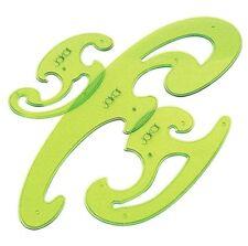 Jakar français courbes techniques dessin stencil set de 3 pièces règle modèle 2303