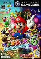USED ​​Gamecube Mario Party 6 Japan import