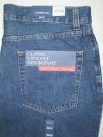 Croft & Barrow Classic Fit Straight Leg Mens Denim Jeans Size 36 | 42 | 44 | New