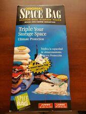 Original Space Bag Jumbo, Large and Travel Space Three  Vacuum Seal Bags Kit NEW