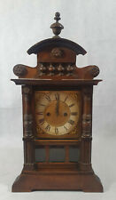 Vintage H.A.C Mantel Clock, Vintage Clock, Made in Wurttemberg, Germany, RARE
