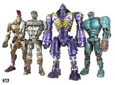 "1/6 12"" Real Steel Robot ThreeA Full Set Of 4 Bambaland Exclusive With Controlle"