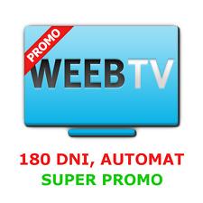 WEEB.TV 180 dni kod PREMIUM, 5% TANIEJ! AUTOMAT 24/7, SZYBKO I BEZPIECZNIE