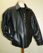 Vintage Gap Leather flight jacket size Large    A408
