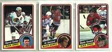 1984-85 O-Pee-Chee Hockey 19-card Chicago Black Hawks Team Set  Dennis Savard
