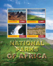 Tanzania 2015 - National Parks of Africa Sheet of 4 Stamps MNH