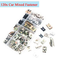 120Pcs 12 Kinds Mixed Fasteners Car Bumper Fender Chassis Self - tapping Screw