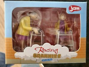 Jam Racing Grannies Crippling Speed Wind Up Walkers Toy Old Lady Gag Gift in box