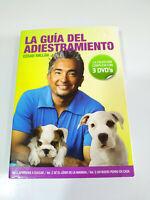 CESAR Millan La Guida Del Dressage - 3 X DVD Spagnolo Edizione Spagnola