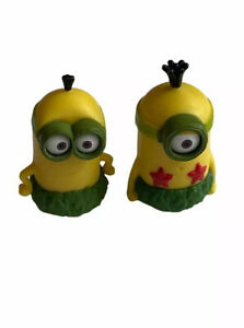 Thinkway Lego Despicable Me Mini Figure Set Minions Cake Toppers Grass Skirt