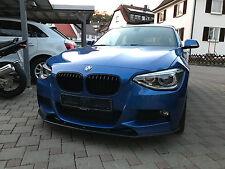 Cup Spoilerlippe Front Diffusor struktur BMW 1er F20 M Performance vor Facelift