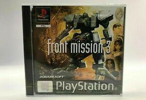 Front Mission 3 (PS1) PAL UK EU BRAND NEW & SEALED