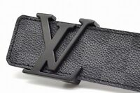 ***Louis Vuitton LV belt Initiales Damier Graphit - M9808 110 cm