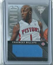 Chauncey Billups 2013-14 Panini Titanium *Jersey Card* Titanic NBA #98/299