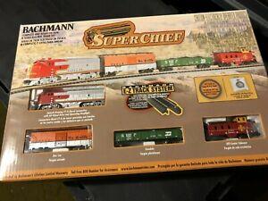 USED Bachmann 24021 SUPER CHIEF (N SCALE) Ready to Run Train Set HH