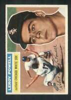 1956 Topps #144 Leroy Powell EXMT/EXMT+ RC Rookie White Sox 83527